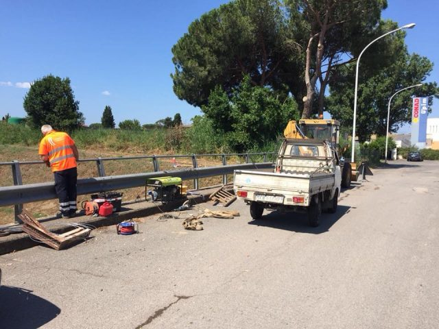 Lavori di manutenzione stradale previsti per i mesi di luglio e agosto.